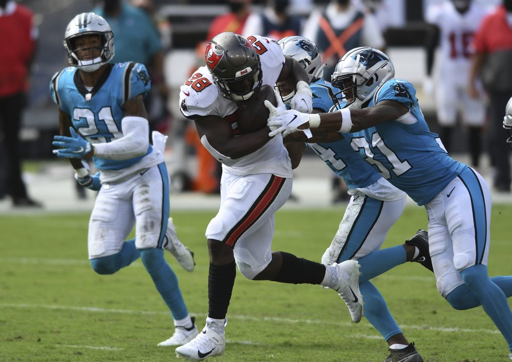 Panthers Fall To Bucs In Week 2