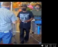 Rcsd Walmart Suspect