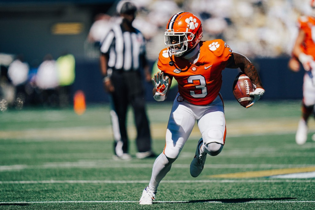 Amari Rodgers Wins Acc Receiver Of The Week