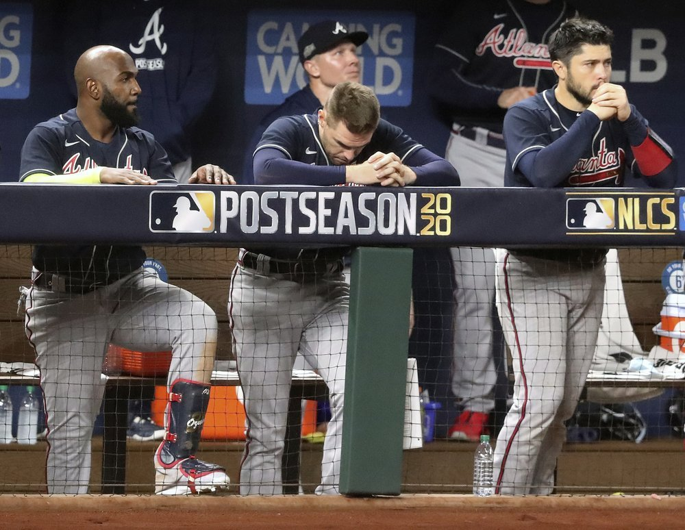 Braves Fall In Game 7 Of The Nlcs