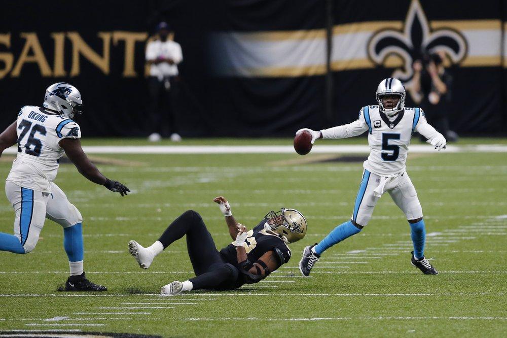 Teddy Bridgewater, Panthers Fall To Saints