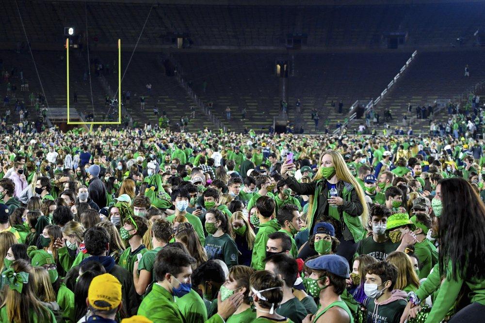 Notre Dame Beats Clemson 2020