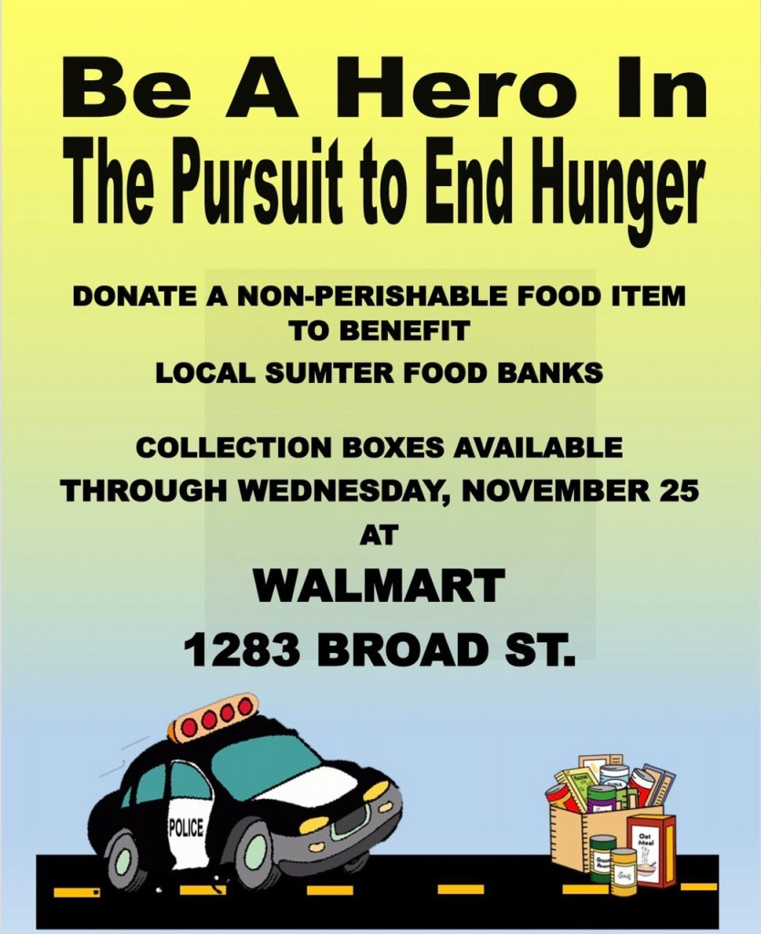 Sumter Pd Thanksgiving Food Drive