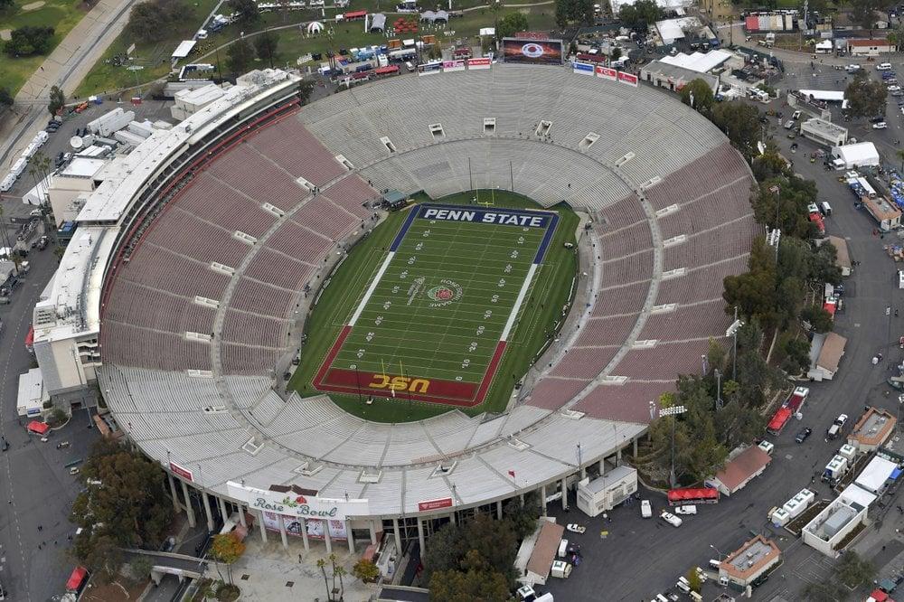 Rose Bowl Aerial