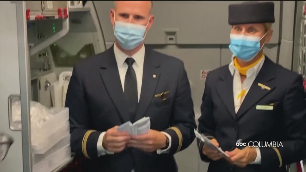 Flight Attendants Masks
