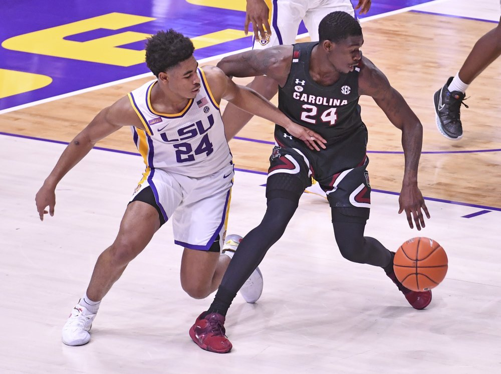Gamecocks Fall To Lsu 85 80