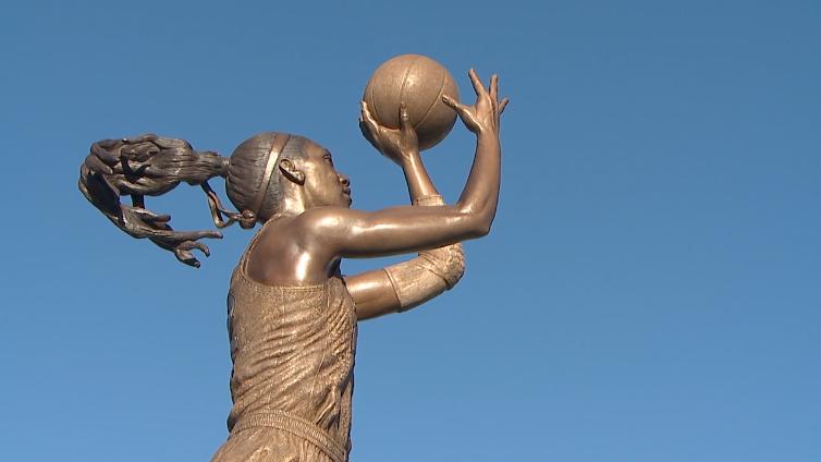 A'ja Wilson Statue