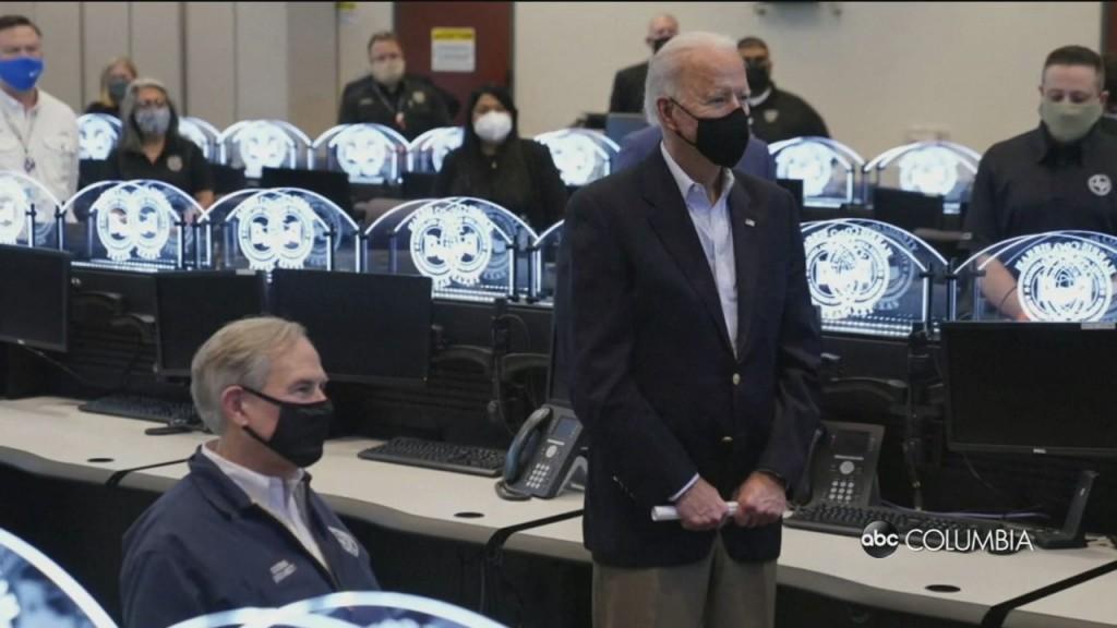 Biden In Texas