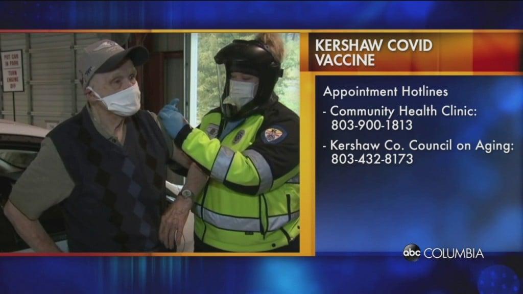 Kershaw Vax Schedule
