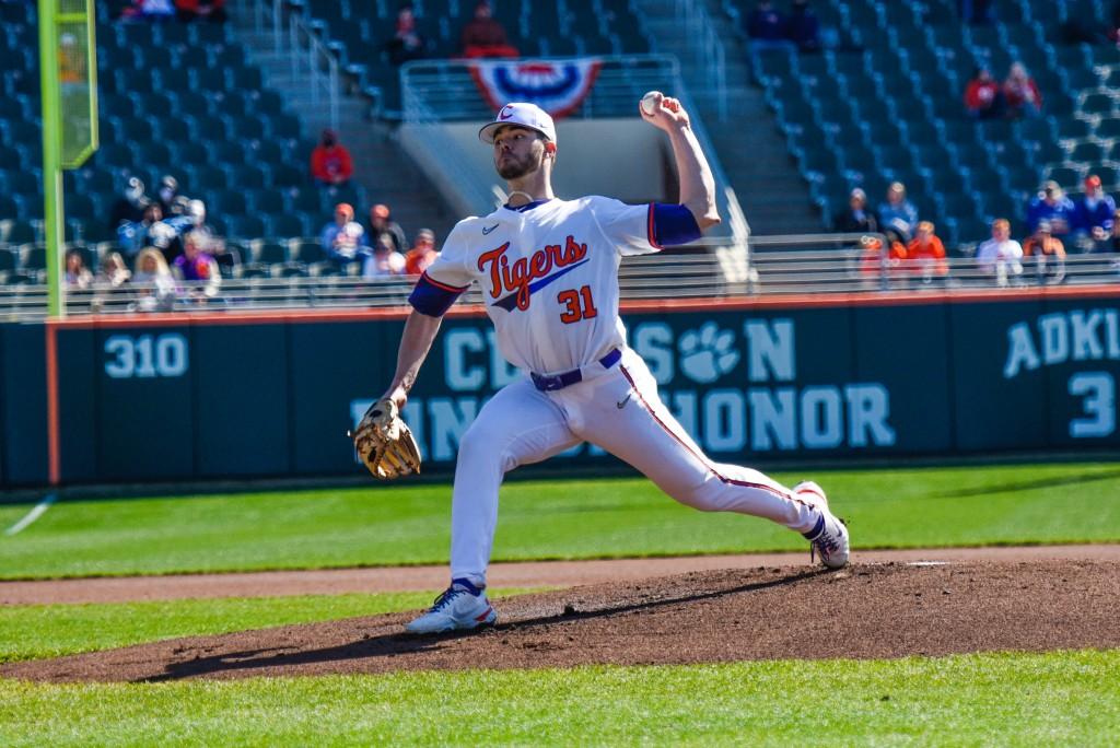 Caden Grice Clemson Baseball Beats Cincinnati