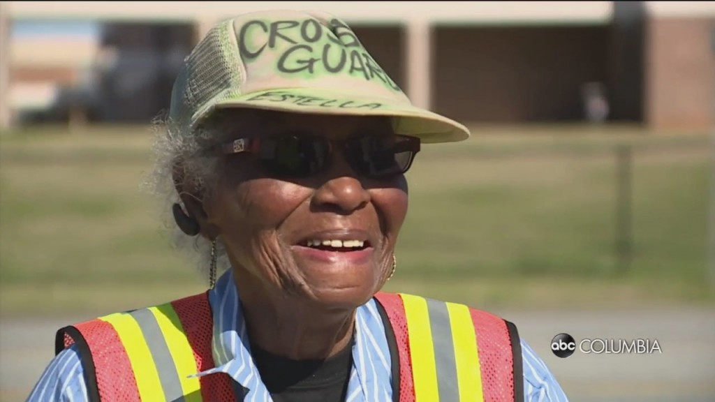 94 Year Old Crossing Guard
