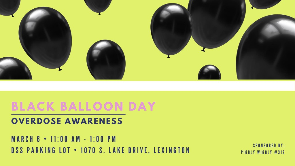 Black Balloon Day Lradac