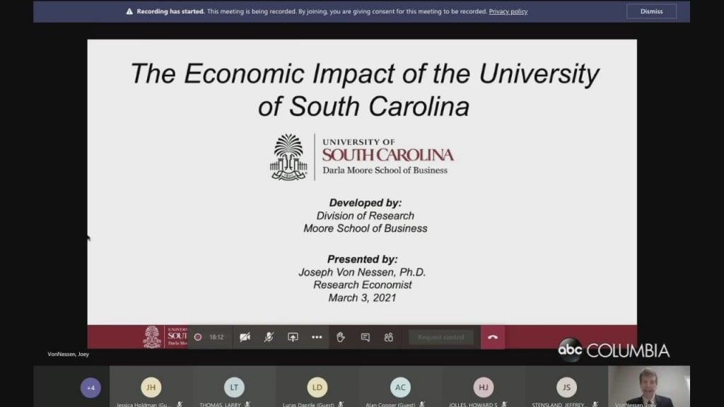 Uofsc Econ Impact