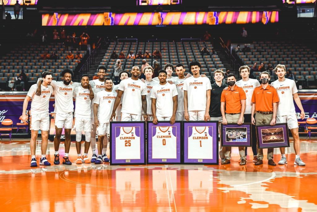 Clemson Mens Basketball Senior Day