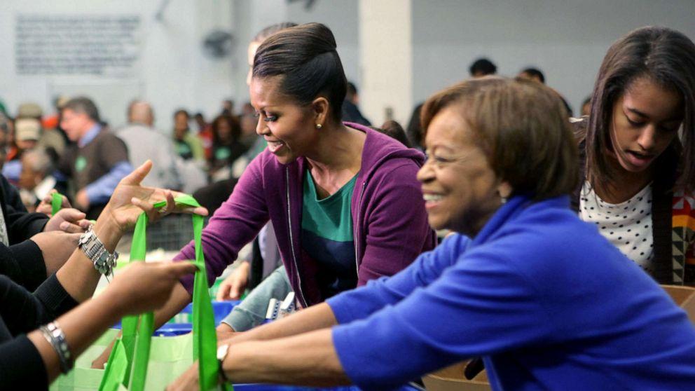 Michelle Obama Food Donation File Gty Jef 210317 1616007913957 Hpmain 16x9 992