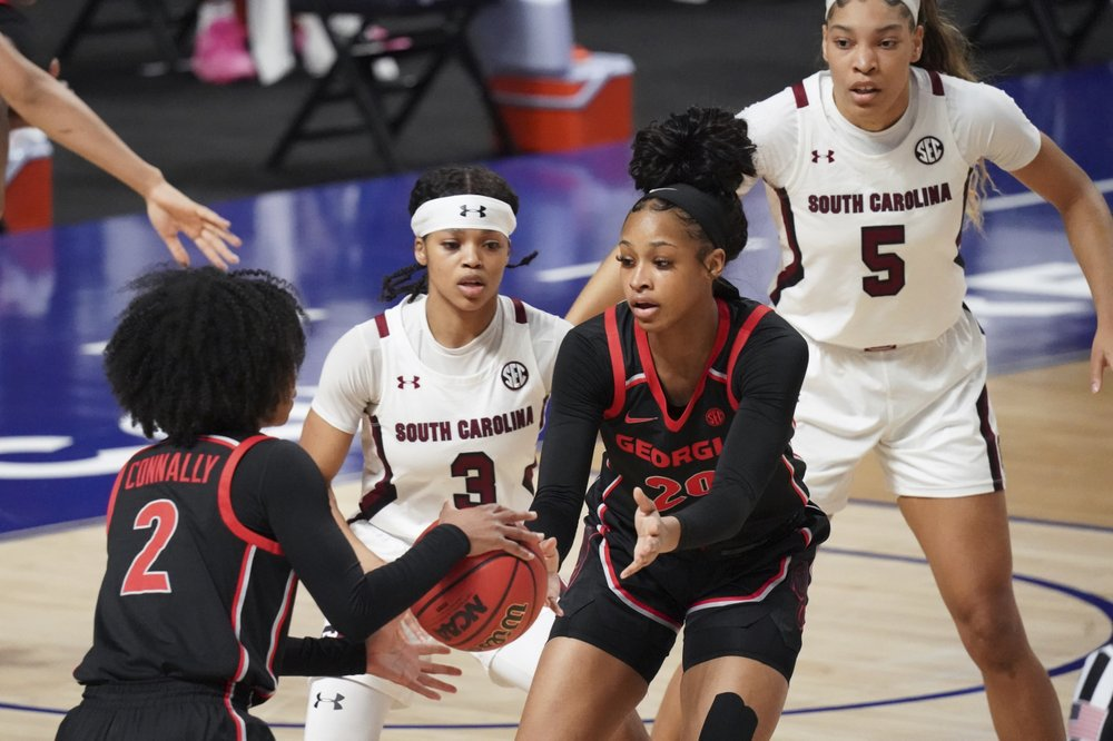 South Carolina Beats Uga To Win Sec Tournament