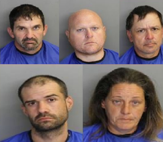 Clarendon Co Catalytic Converter Suspects
