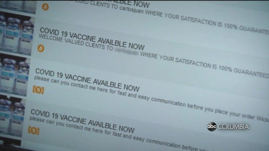 Dark Web Vaccines