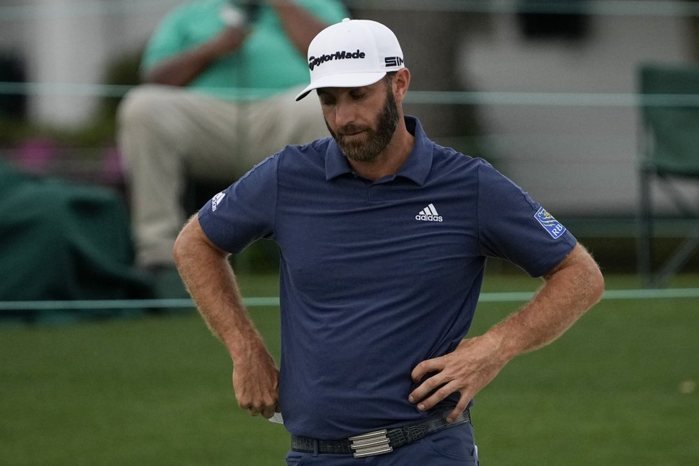 Dustin Johnson Misses Cut In 2021 Masters