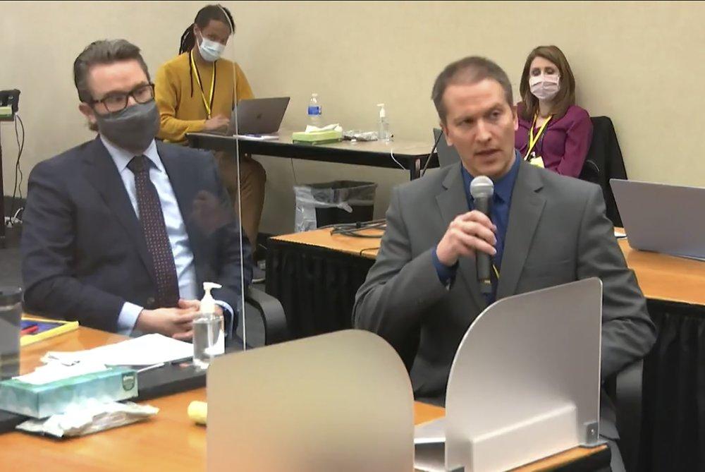 Derek Chauvin Not Testifying Ap