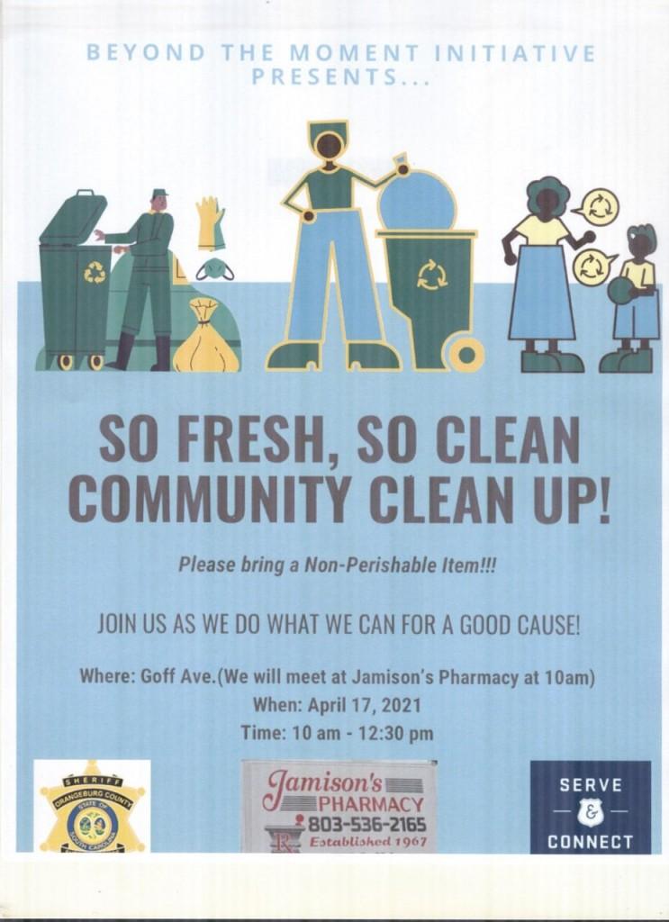 Ocso Neighborhood Cleanup