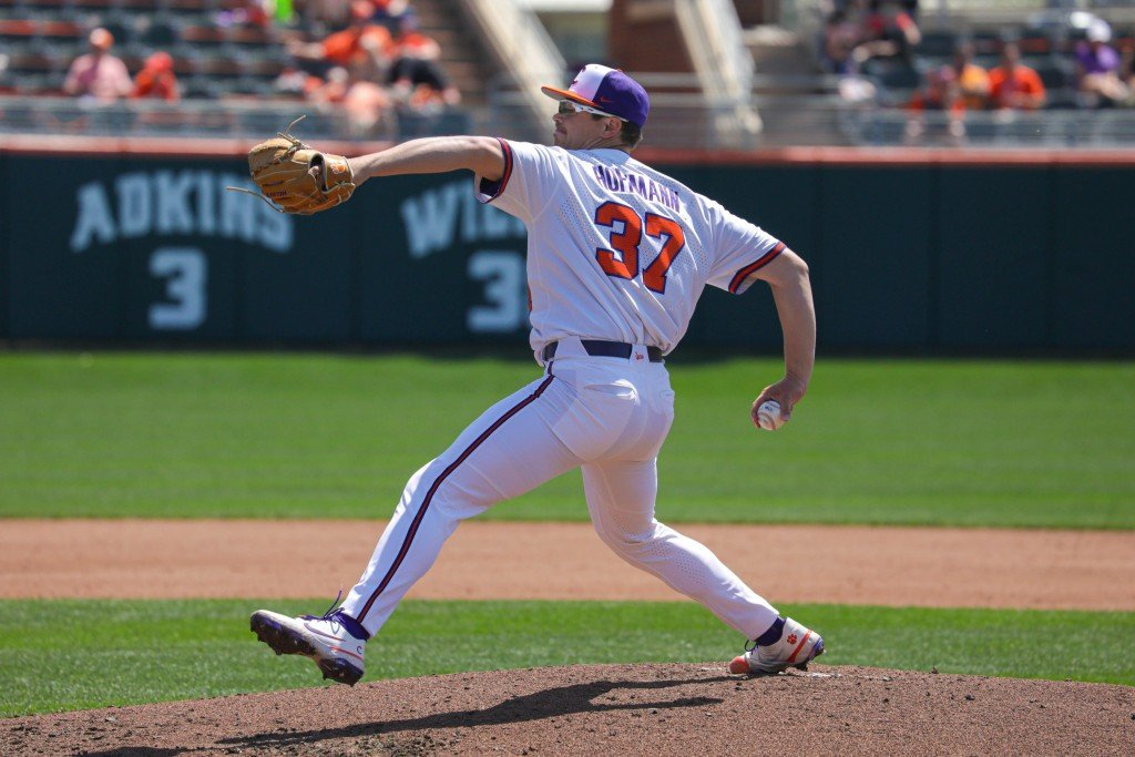 Nick Hoffman Iso Clemson Baseball Loses To Virginia