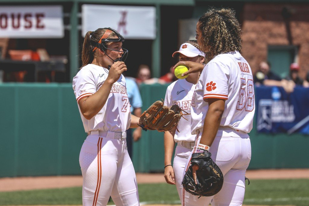 Clemson Softball Falls To Alabama In Tuscaloosa Regional