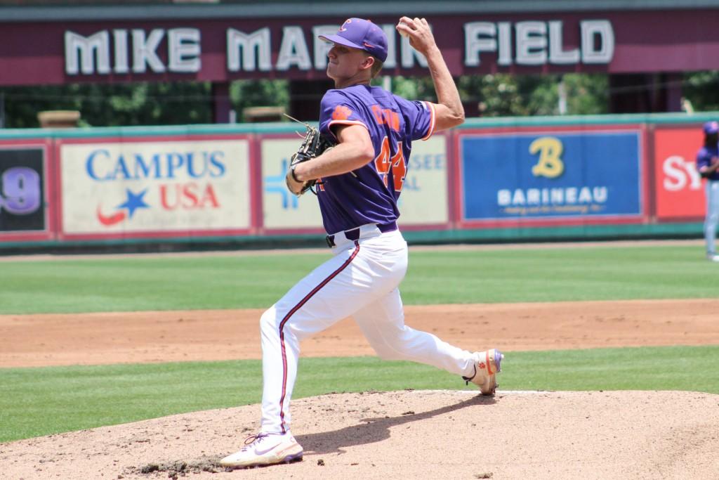 Nick Clayton Iso Clemson Baseball Falls To Fsu