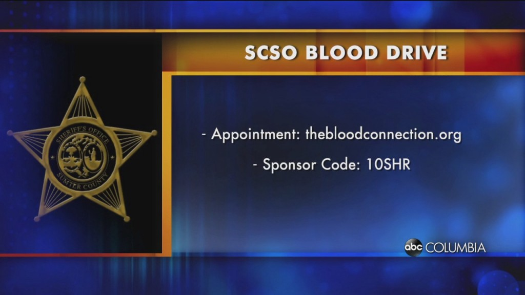 Scso Blood Drive