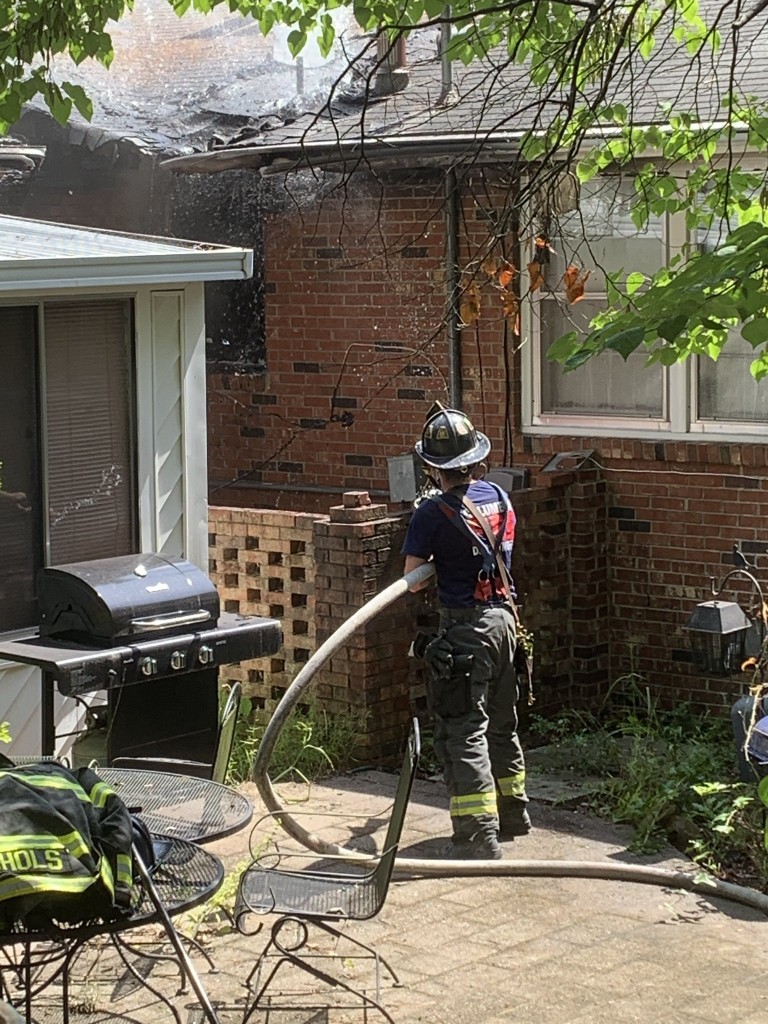 Cola Fire Niblick House Fire 1