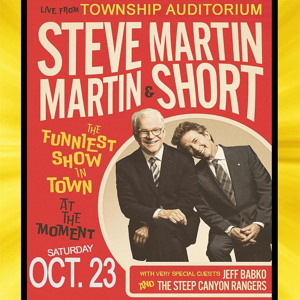 Steve Martin Martin Short Township Poster