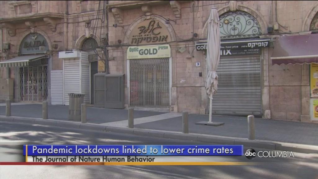 Less Crime In Covid