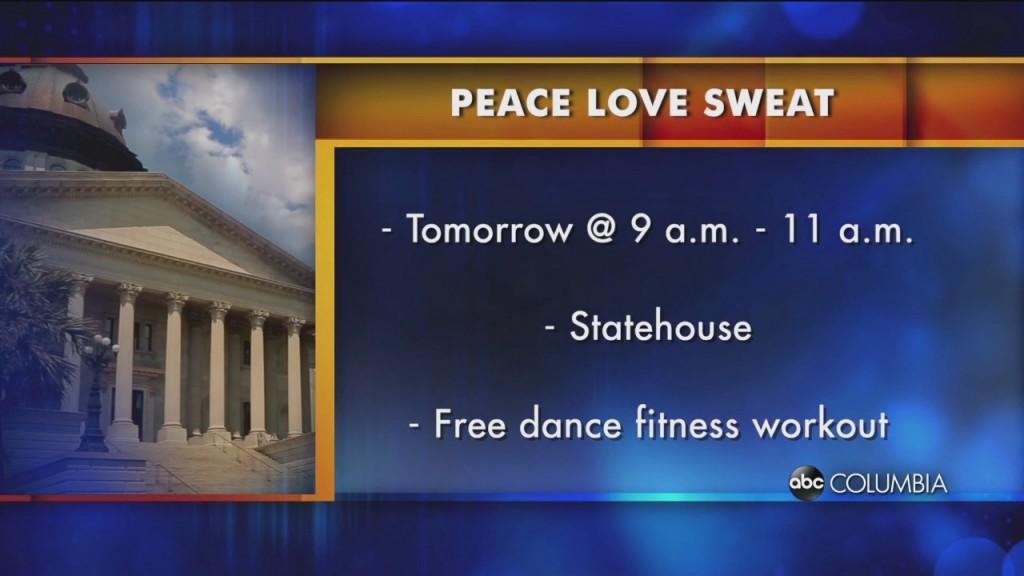 Peace Love Sweat
