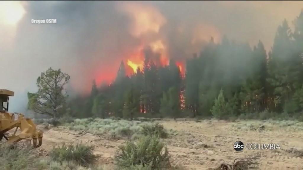 West Wildfires