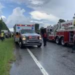 Cola Fire Car In Creek 3