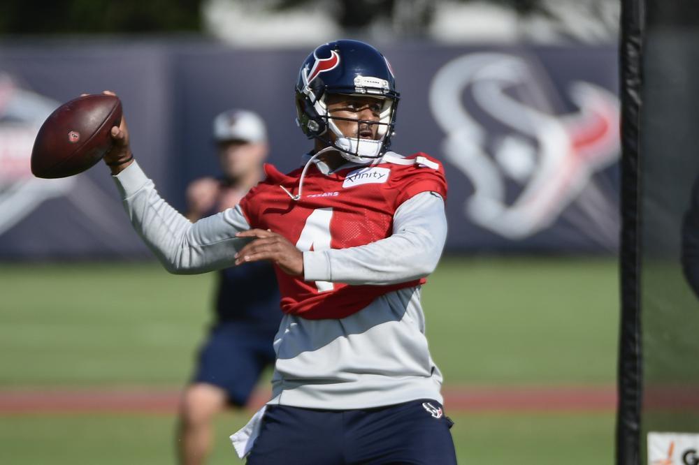 Deshaun Watson At Texans Training Camp