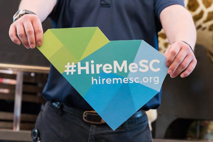 Hire Me Sc Campaign Logo Photo By Crush Rush Web Res