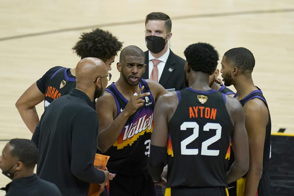 Suns Down 3 2 In Nba Finals