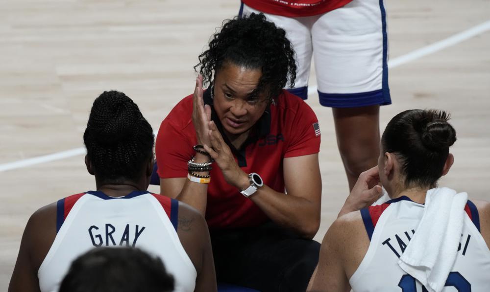 Dawn Staley Coaching Team Usa In Olympics