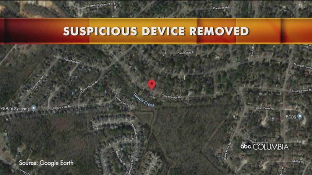 Irmo Suspicious Device