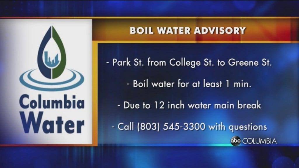 Park St Water Boil
