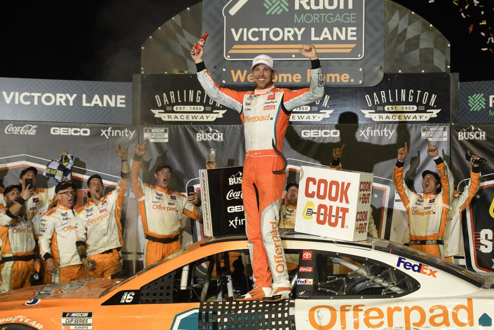 Denny Hamlin Wins Cookout Southern 500