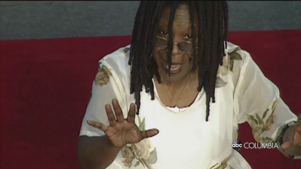Whoopi Stays With The View