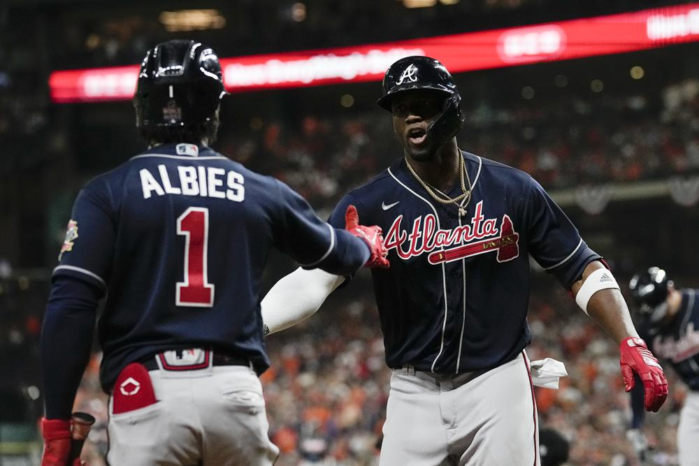 Jorge Soler Braves Beat Astros In World Series Game One