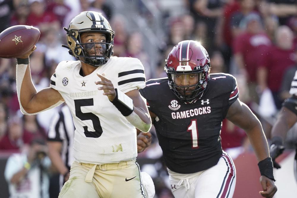 Kingsley Enagbare South Carolina Beats Vanderbilt