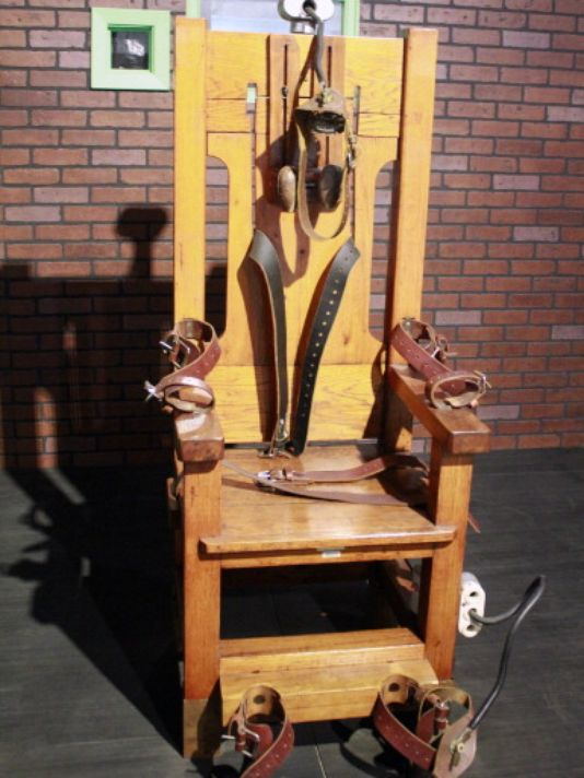 Death penalty and electric chair