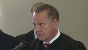 Suspended Chief Justice, Roy Moore