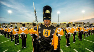 band drum major and band great pic