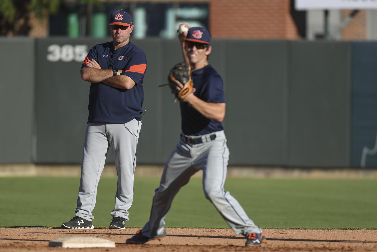 Auburn Baseball Opens Fall Practice