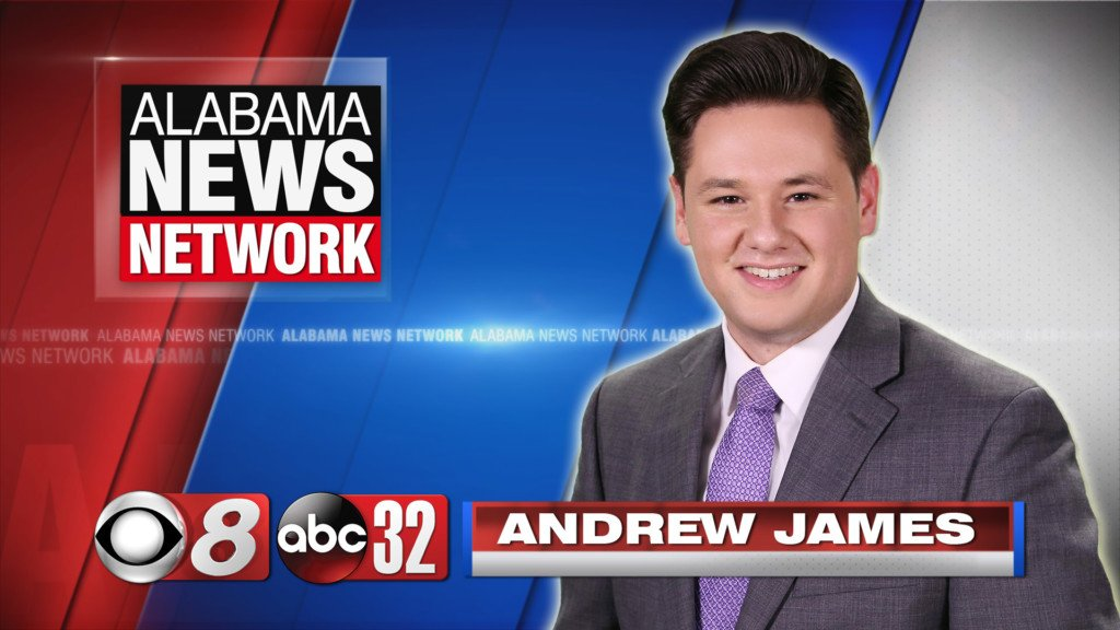 photo of Alabama News Network anchor Andrew James